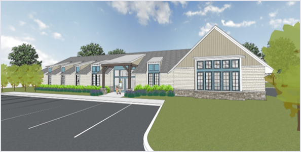 Rendering of The Children's Center of Northwest North Carolina