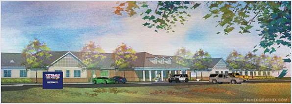 Veterans Life Center Rendering