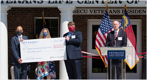 Check Presentation for Veterans Life Center